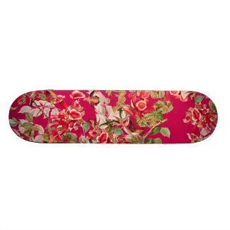Audubon Hummingbird Birds Wildlife Flowers Floral Skateboard Deck
