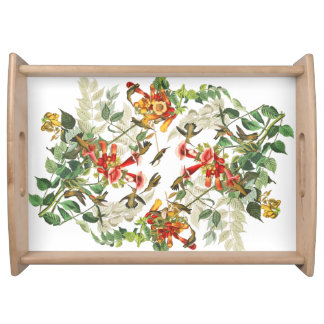 Audubon Hummingbird Birds Wildlife Serving Tray