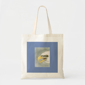 Audubon Illustration of a Bald Eagle Cotton Tote