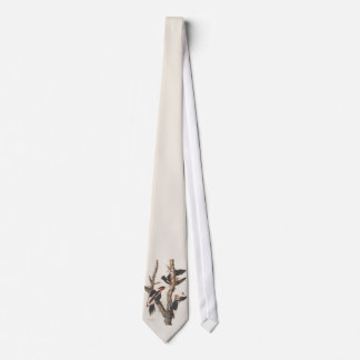 Audubon Ivory-Billed Woodpecker Tie