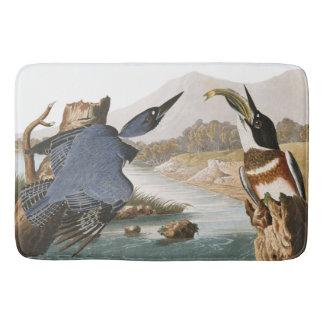 Audubon Kingfisher Birds Wildlife Animal Bath Mat