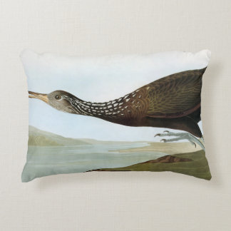 Audubon: Limpkin Accent Pillow