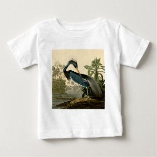 Audubon Louisiana Heron Baby T-Shirt