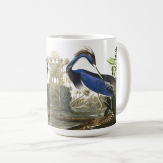 Audubon Louisiana Heron Bird Wildlife Animals Mug