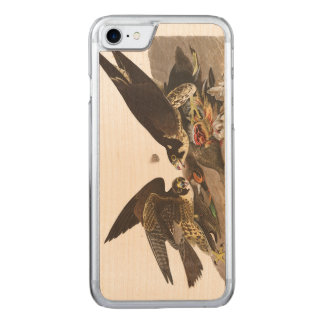 Audubon Plate 16 Great-footed Hawk Carved iPhone 7 Case