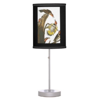 Audubon print of State Bird of Alabama on lamp