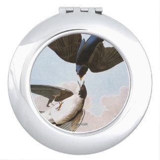 Audubon: Tree Swallow Vanity Mirror
