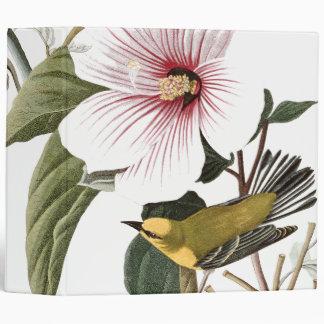 Audubon Warbler Birds Floral Wildlife Avery Binder