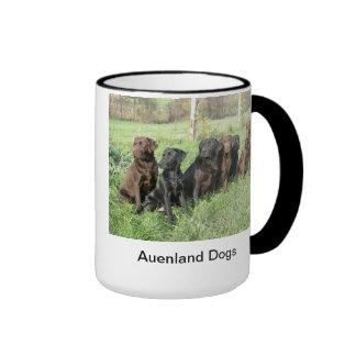 Auenland Dogs Ringer Mug