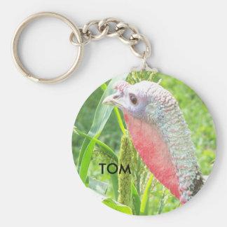 Aug18 2008 003, TOM Basic Round Button Keychain