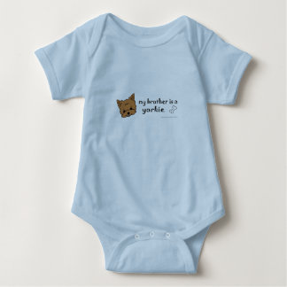 aug26 my brother is a yorkie and more dog breeds! tshirt