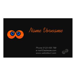 Augen Visitenkartenvorlagen