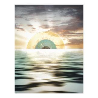 Augensonne - Sonnenauge Letterhead