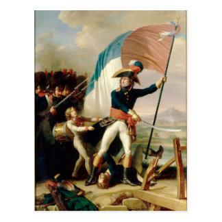 Augereau at Arcole Postcard