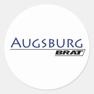 Augsburg Brat -A001L Classic Round Sticker