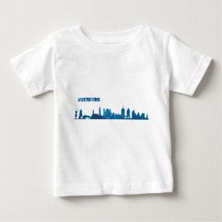 Augsburg Skyline Silhouette Baby T-Shirt