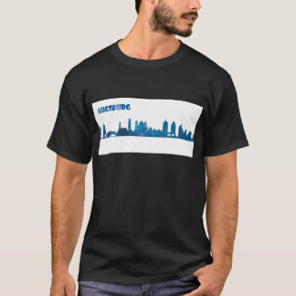 Augsburg Skyline Silhouette T-Shirt