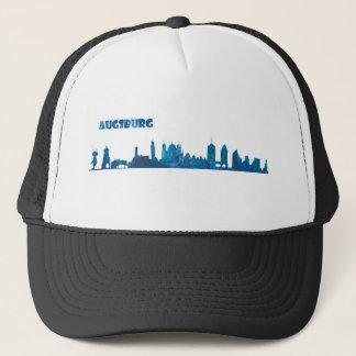 Augsburg Skyline Silhouette Trucker Hat