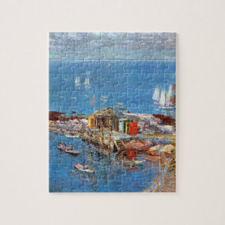 August Afternoon, Appledore by Childe Hassam Jigsaw Puzzle