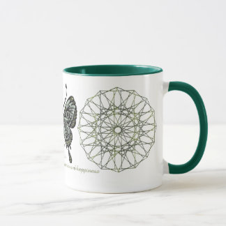 August Birthstone Butterfly Mug