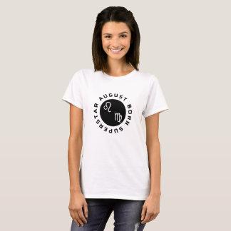 August Born Superstar T-Shirt