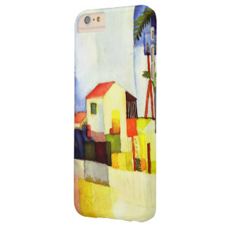 August Macke Bright House Watercolor Painting Barely There iPhone 6 Plus Case