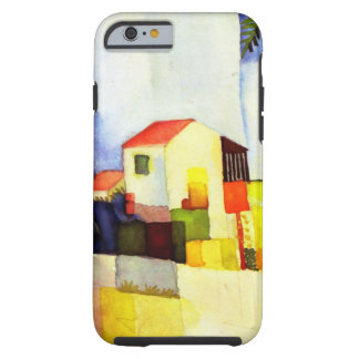 August Macke Bright House Watercolor Painting Tough iPhone 6 Case