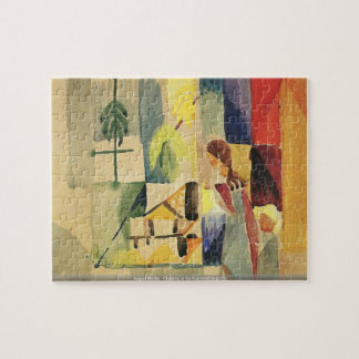 August Macke - Children at the vegetable shop (II) Puzzle