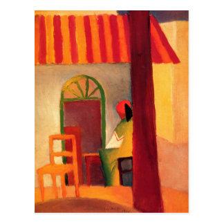 August Macke Colourful Postcard