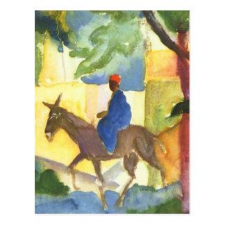 August Macke Fine Art Postcard