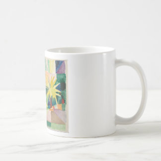 August Macke - Garden on Lake Thun Coffee Mug