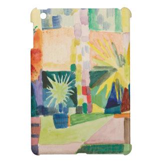 August Macke - Garden on Lake Thun Cover For The iPad Mini