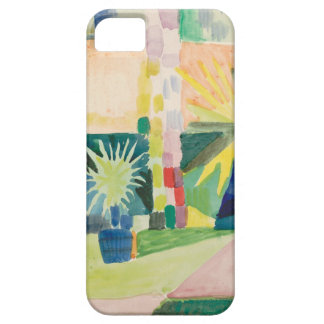 August Macke - Garden on Lake Thun iPhone 5 Cases