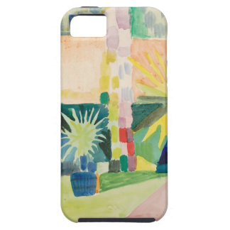 August Macke - Garden on Lake Thun iPhone 5 Cover