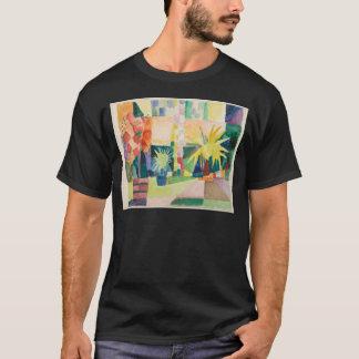 August Macke - Garden on Lake Thun T-Shirt
