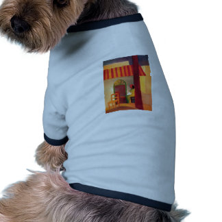 August Macke - Turkish Cafe 1914 Türkisches Café Pet T-shirt