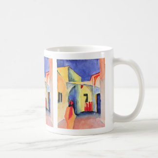 August Macke - View into a Lane Coffee Mug