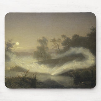 August Malmstrom - Dancing Fairies Mouse Pad
