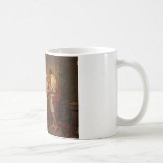 August Malmstrom - Tobias healing his blind father Coffee Mug