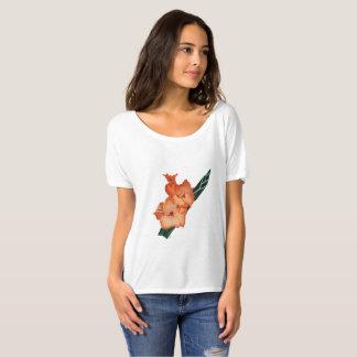 August: Sardonyx Gladiolus tee
