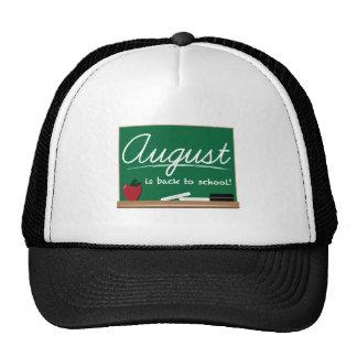August School Hat