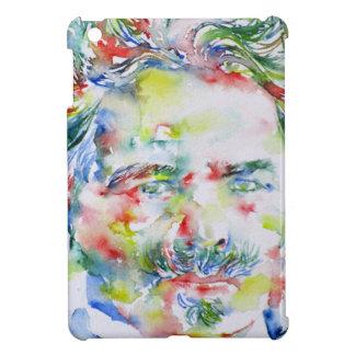 august strindberg - watercolor portrait iPad mini case