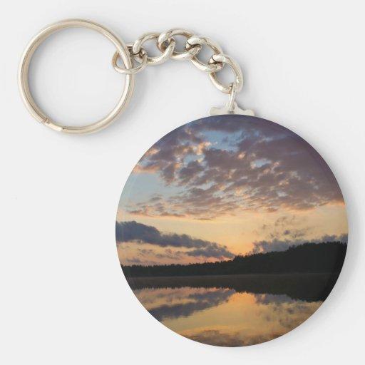 august sunrise key chain