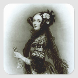 Augusta Ada Byron  Countess of Lovelace Square Sticker