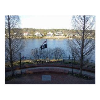 Augusta Georgia Riverwalk Postcard