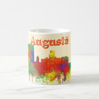 Augusta Georgia Skyline-SG Coffee Mug