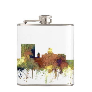 Augusta Georgia Skyline. SG-Safari Buff Hip Flask