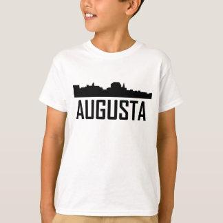 Augusta Maine City Skyline T-Shirt