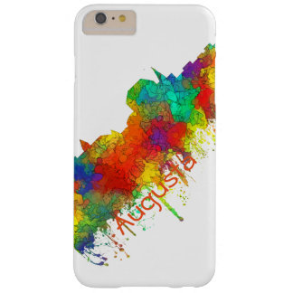 AUGUSTA MAINE SKYLINE - BARELY THERE iPhone 6 PLUS CASE