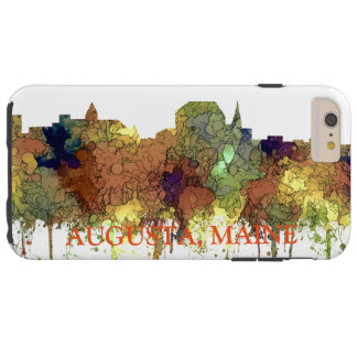 Augusta Maine Skyline SG-Safari Buff Tough iPhone 6 Plus Case